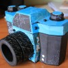 Boite appareil photo en papier