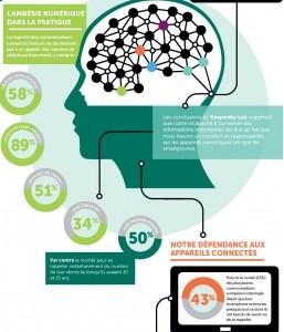 Infographie de l'étude de KasperskyLab