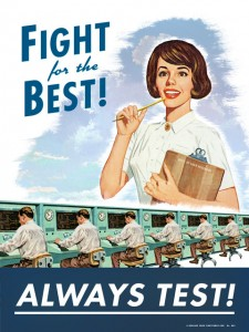 Fight for the best : always test!