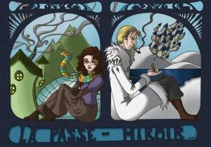 Illustration du livre La Passe-miroir