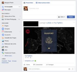 Manque de cohérence sur facebook