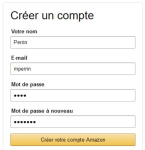 Feedback pas immédiat sur Amazon